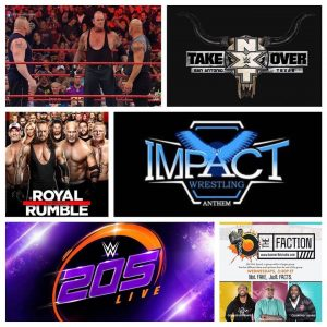 The Faction (Royal Rumble, 205 Live, Taker, Impact Wrestling)