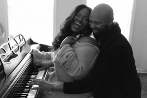 Tasha Cobbs & husband Kenneth Leonard
